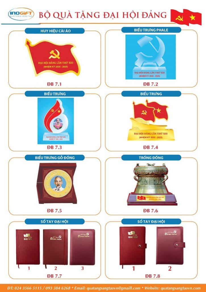 Giải pháp quà tặng đại hội đảng bộ nhiệm kỳ 2020 - 2025